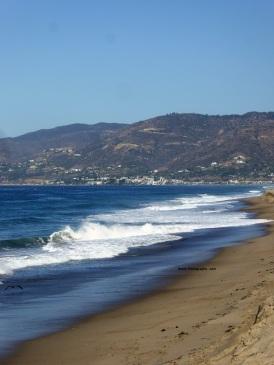 Malibu California in the early morning